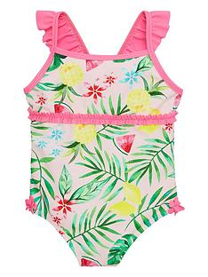 v-by-very-girls-frill-shoulder-tropical-lined-swimsuit-multi