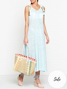 pitusa-tassel-tie-dress-blue