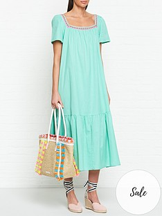 pitusa-ruffle-midi-dress-green