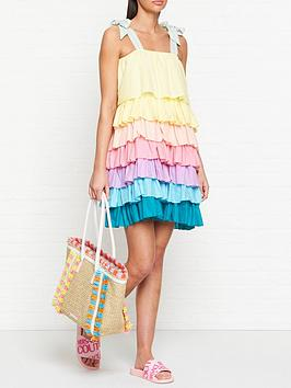 pitusa-pinata-tiered-dress-multi