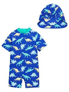 v-by-very-boys-neon-dinosaur-sunsafe-with-hat-blue
