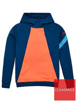 nike-junior-academy-overhead-hoodie-blue