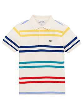lacoste-boys-short-sleeve-multi-stripe-polo-shirt-cream
