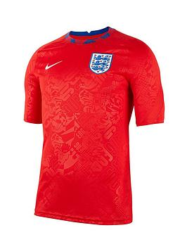 Nike England Pre Match Training Top - Red