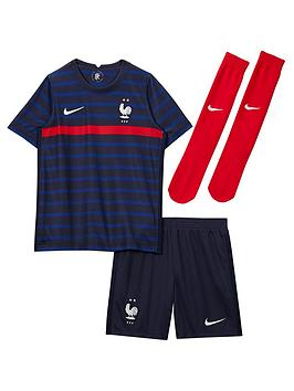 Nike Little Kids France Home 2020 Kit - Navy