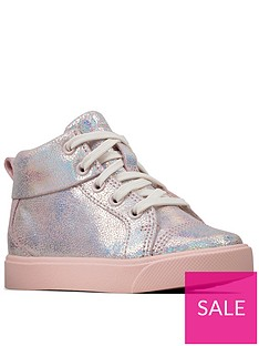 clarks-city-oasis-toddler-girls-high-top-trainers-pink
