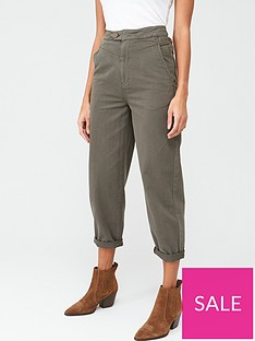 v-by-very-barrel-leg-utility-chino-khaki