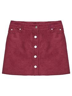 mintie-by-mint-velvet-girls-cord-buttoned-skirt-red