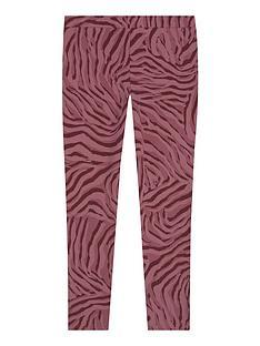 mintie-by-mint-velvet-girls-zebra-print-leggings-red