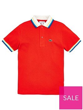 lacoste-boys-short-sleeve-tipped-polo-shirt-red