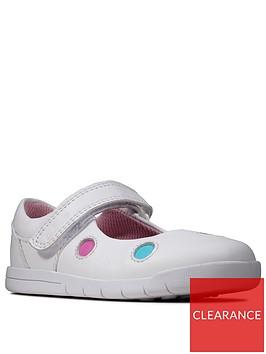 clarks-toddler-girls-emery-dot-shoes-white