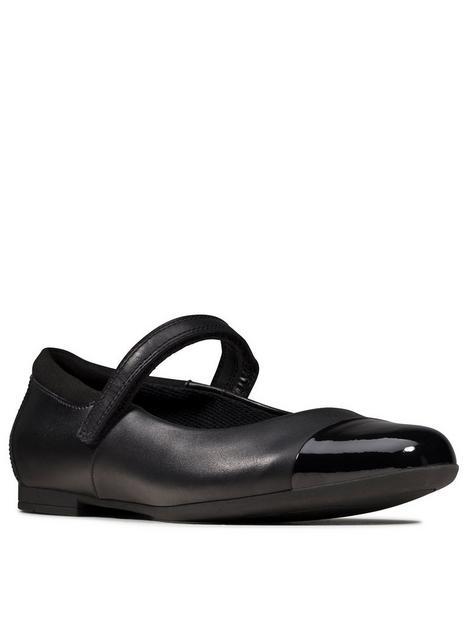 clarks-girls-youthnbspscala-gem-school-shoe-black