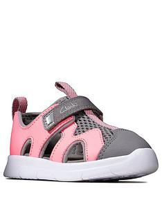 clarks-girls-surf-sandals-pink