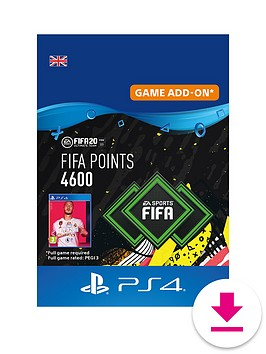 playstation-4-fifa-20-points-4600