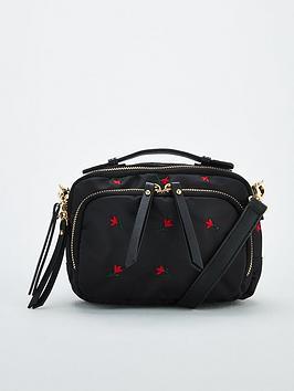 v-by-very-pandora-nylon-embroidered-cross-body-bag-black