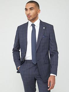 ted-baker-sterling-check-jacket-blue