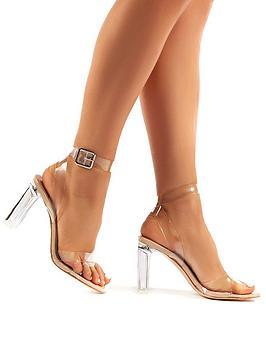 public-desire-talk-wide-fit-heeled-sandals-nude