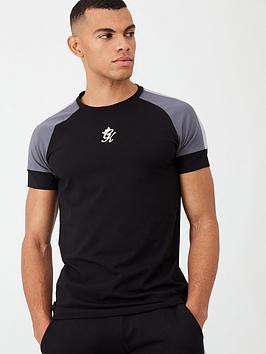 gym-king-core-plus-tonal-t-shirt-black