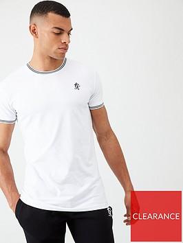 gym-king-core-tipped-t-shirt-white