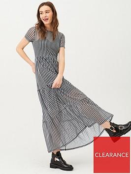 v-by-very-checked-mesh-midi-dress-blackwhite