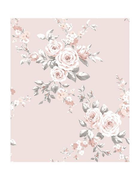 catherine-lansfield-canterbury-floral-wallpaper-ndash-pink