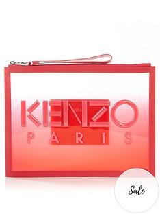 kenzo-a4-kombo-logo-pouch-pink