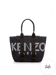kenzo-nylon-shopper-tote-bag-black