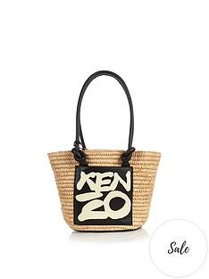 kenzo-raffia-logo-shopper-tote-bag-cream