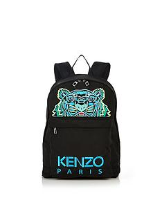 kenzo-tiger-canvas-backpack-black