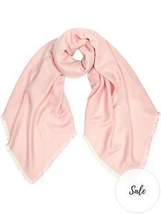 kenzo-multi-tigers-lurex-scarfnbsp--pink