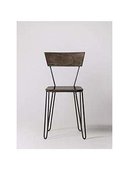 swoon-set-of-2nbspkyoto-dining-chairs-mango-woodgunmetal