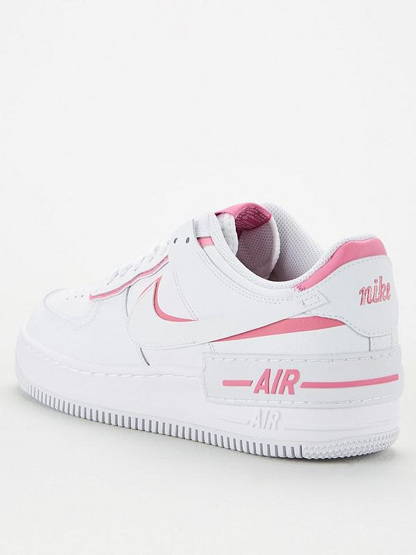 Nike Air Force 1 Shadow White Pink Very Co Uk Nike air force 1 shadow black/light arctic pink women's trainers limited stock. air force 1 shadow white pink