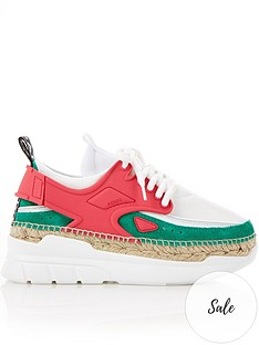 kenzo-k-lastic-espadrille-trainers-pink