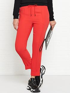kenzo-tailored-jogpants-red