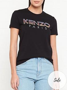 kenzo-sequin-logo-straight-t-shirt-black