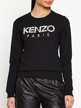 kenzo-classic-paris-logo-sweatshirt-black