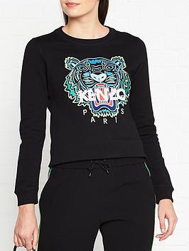 kenzo-classic-tiger-slim-sweatshirt-black