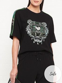 kenzo-tiger-crepe-t-shirt-blacklime