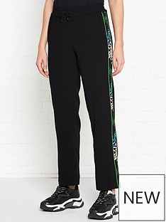 kenzo-floral-taped-trackpants-blacklime