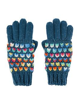 accessorize-girls-rainbow-waffle-gloves-multi