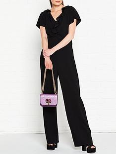 kenzo-ruffle-collar-long-jumpsuit-black