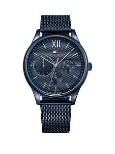 tommy-hilfiger-tommy-hilfiger-blue-and-silver-detaiul-multi-dial-blue-ip-stainless-steel-mesh-strap-watch
