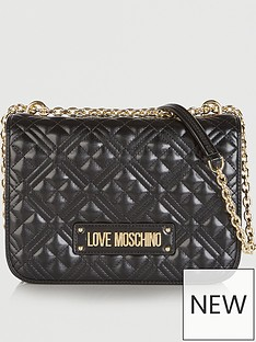 love-moschino-patent-quilted-logo-shoulder-bag-black