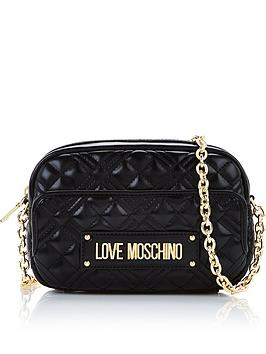 love-moschino-patent-quilted-logo-camera-bag-black