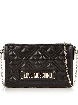 love-moschino-patent-quilted-cross-body-bag-black