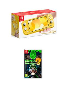 nintendo-switch-lite-nintendo-switch-lite-console-with-luigis-mansion-3
