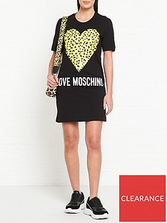 love-moschino-leopard-heart-t-shirt-dress-black