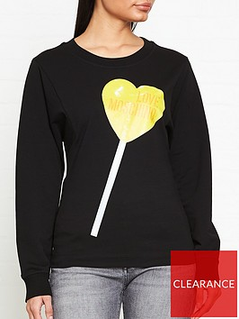 love-moschino-logo-lollipop-heart-sweatshirt-black