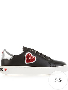 love-moschino-sequin-heart-logo-lace-up-trainers-black