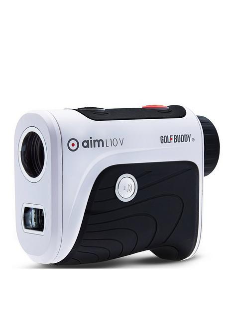 golfbuddy-aim-l10v-laser-rangefinder-with-voice-and-vibrating-target-lock-amp-slope-adjusted-readings